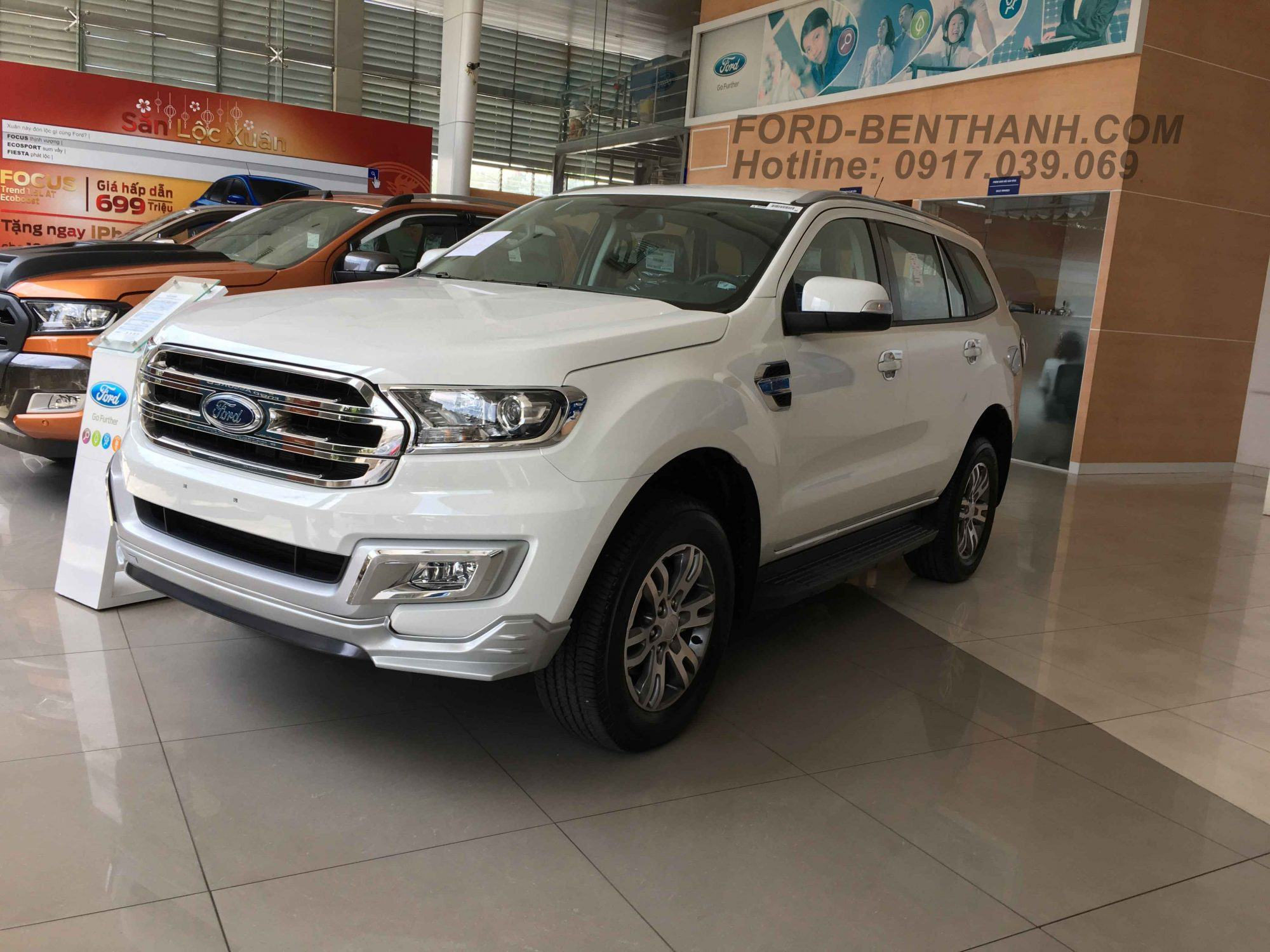 BodyKit Ford Everest 2017
