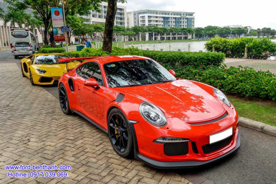 """Siêu Xe 14 tỷ Porsche 911 GT3 RS của """"Cường Dollar"""""""