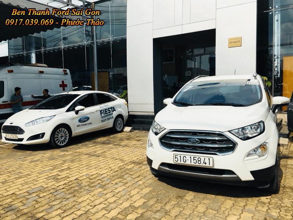 Lái Thử Xe Tại Bến Thành Ford Sài Gòn