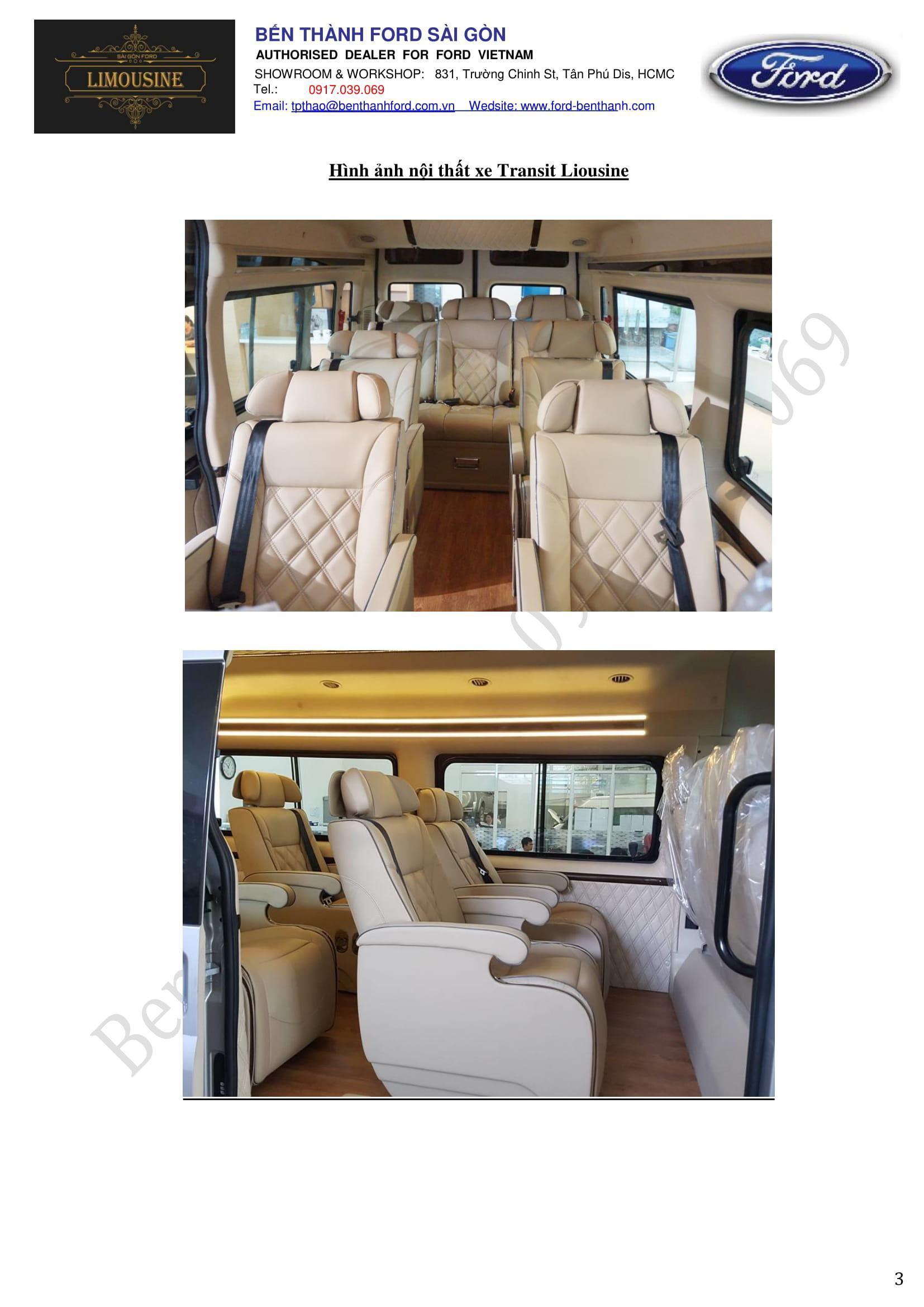 Limousine 1,195 BenThanhFord 0917039069-3
