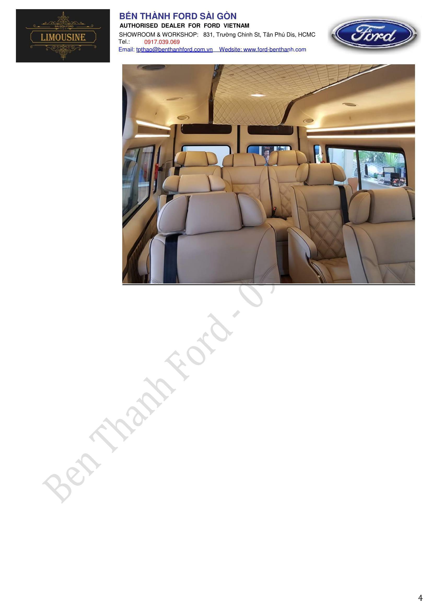 Limousine 1,195 BenThanhFord 0917039069-4