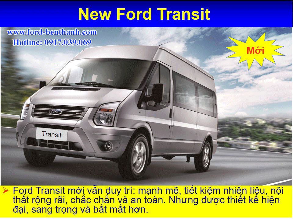 Xe Ford Transit 2018
