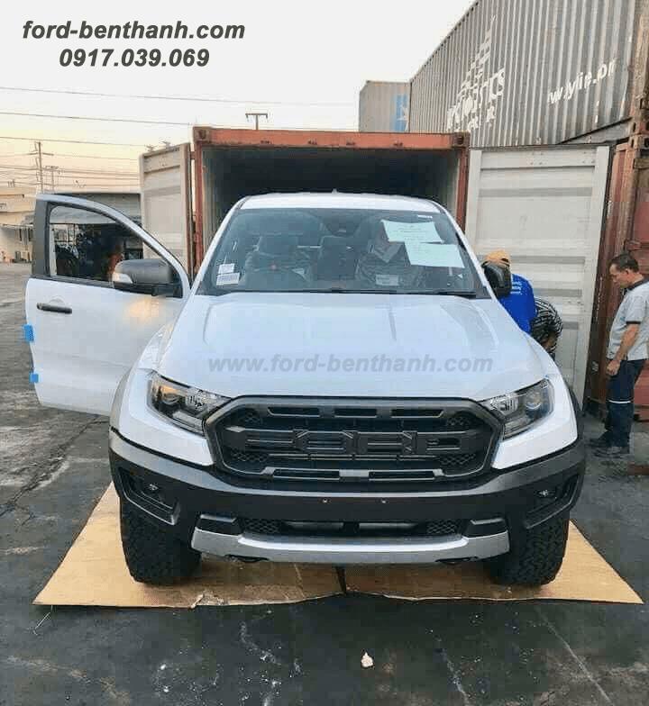 Giao Xe Ford Ranger Raptor 2018 Quí IV/2018