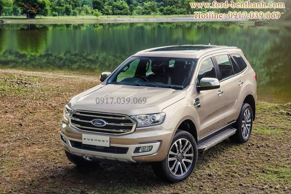 Ford Everest 2018 Màu Vàng Cát