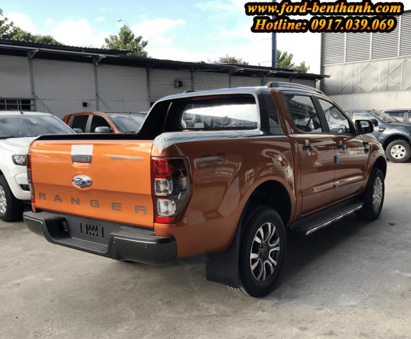giao xe Ford Ranger 2018 tại bến thành ford sài gòn