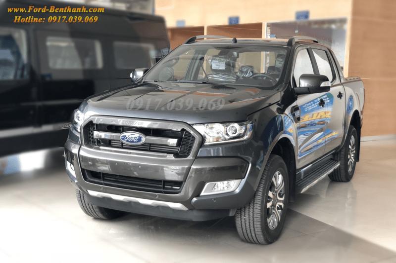 Ford Ranger WildTrak 3.2 2018 Màu Xám