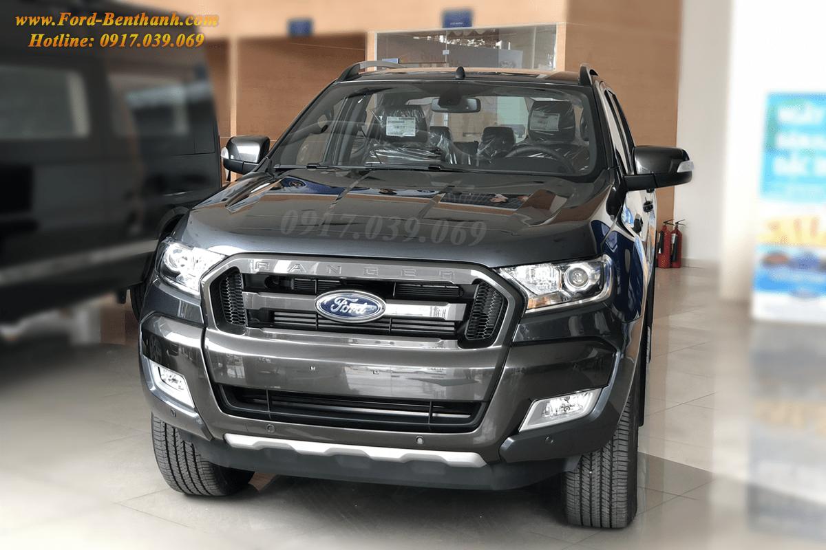 Ford Ranger WildTrak 3.2 2018 Màu Xám tại
