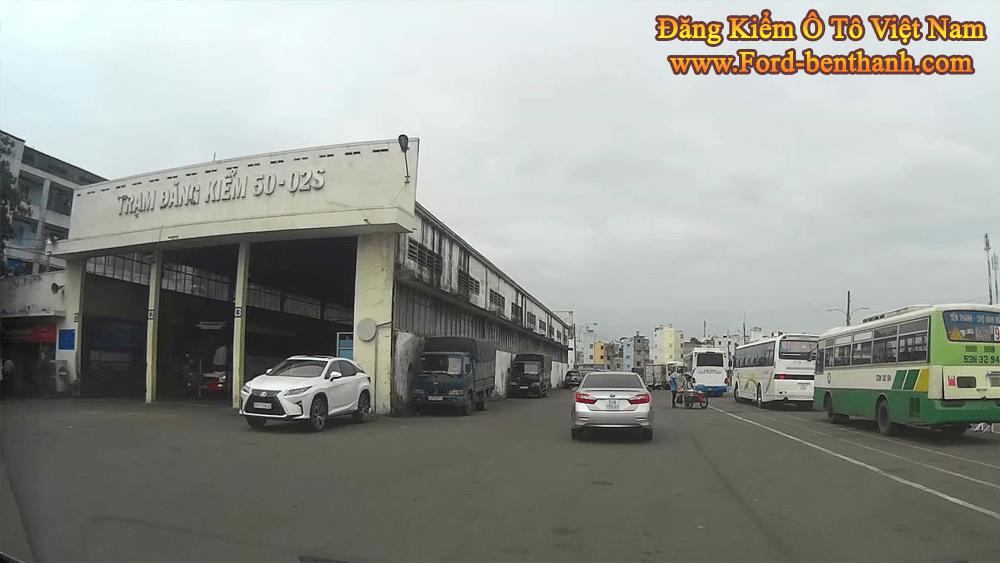 Địa Chỉ Trung Tâm Đăng Kiểm Ô Tô tại TP.HCM