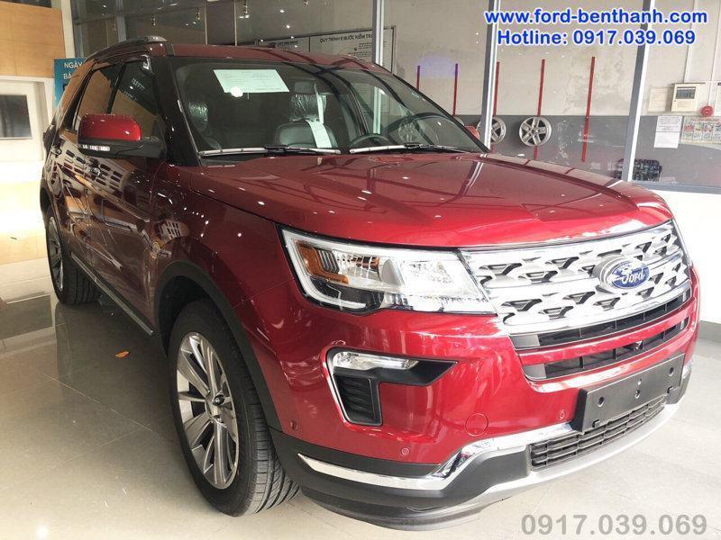 Ford Explorer 2018 Màu Đỏ Đô
