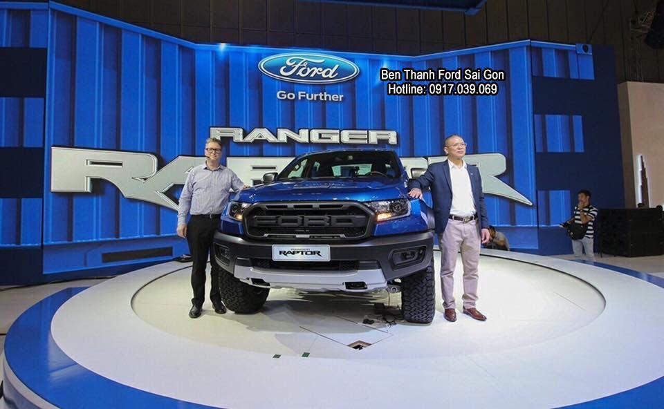Ra Mắt Xe Ford Ranger Raptor 2019 tại Việt Nam Motor Show