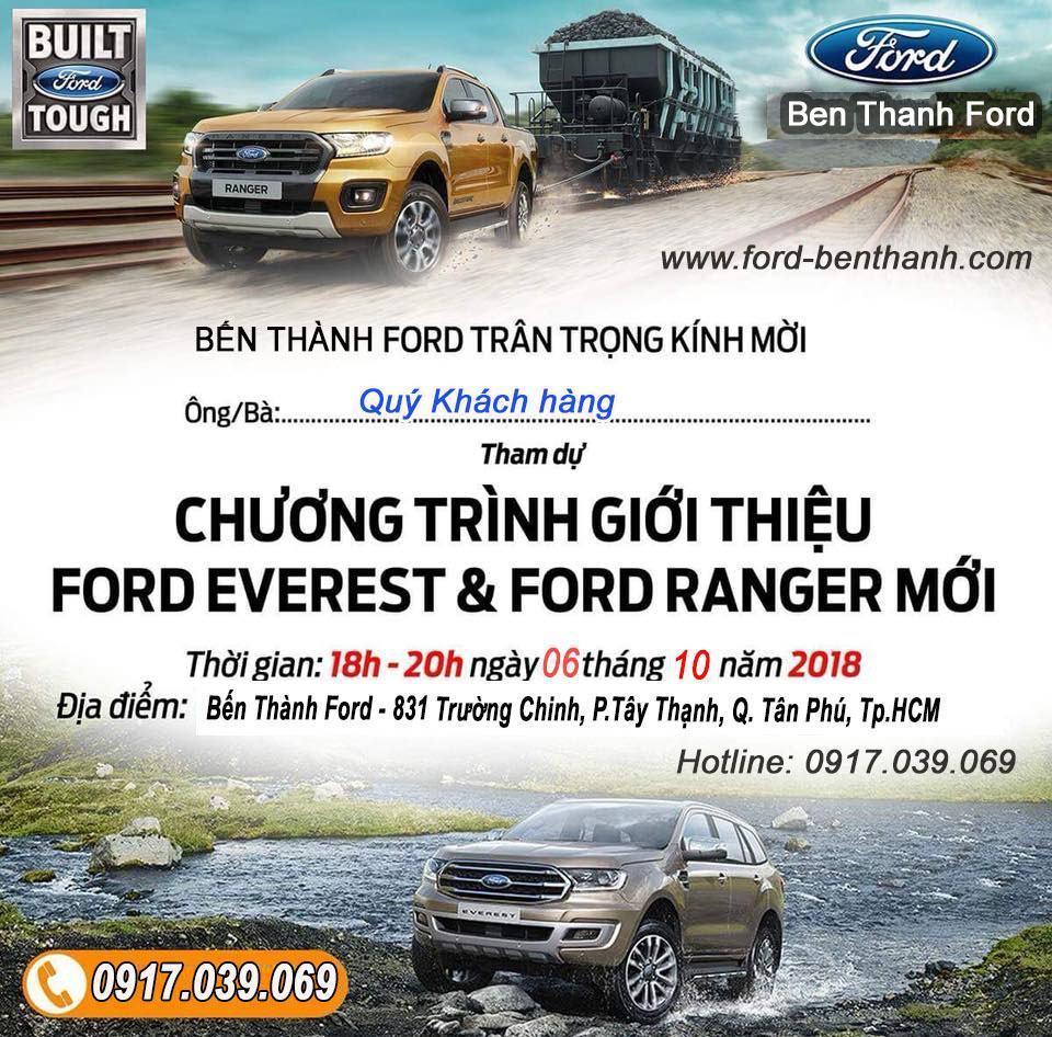 Ra Mắt Ford Everest 2019 tại Bến Thành Ford Sài Gòn