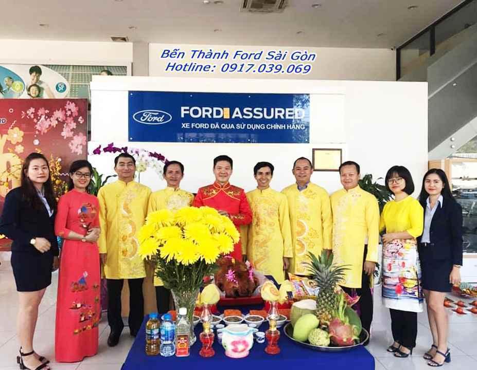 Khuyến Mãi Đầu Năm Tại Bến Thành Ford Sài Gòn
