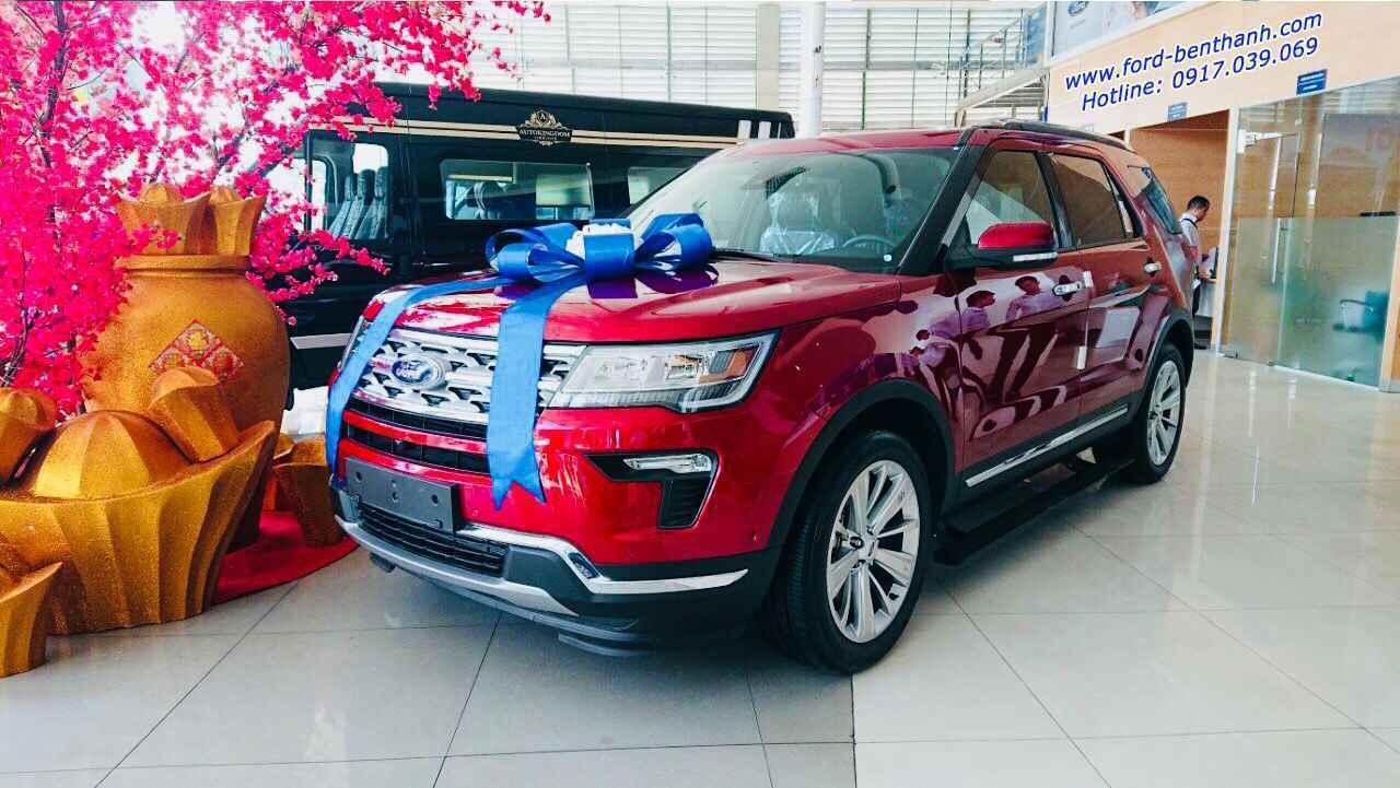 Ford Explorer 2019 Màu Đỏ Đô
