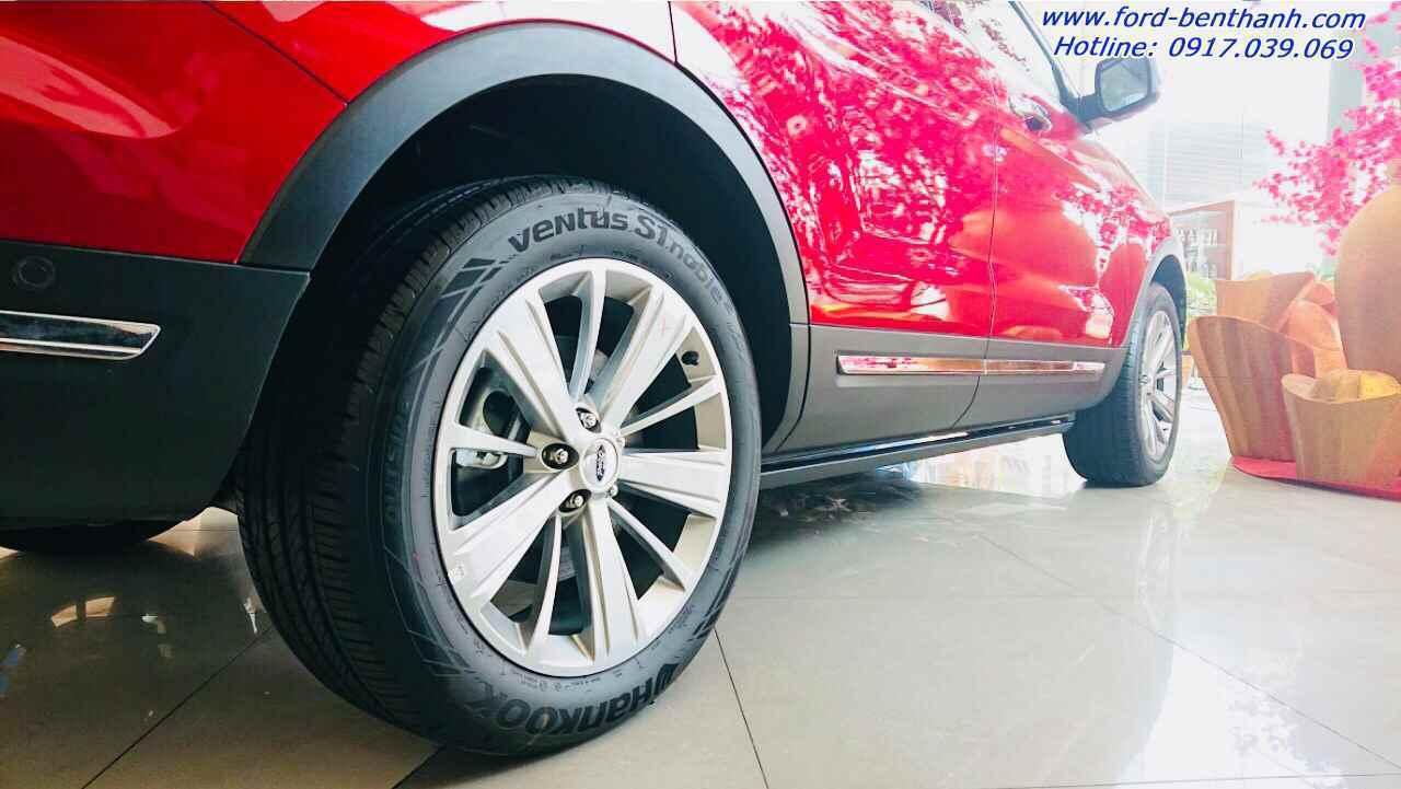 Ford Explorer 2019 màu đỏ