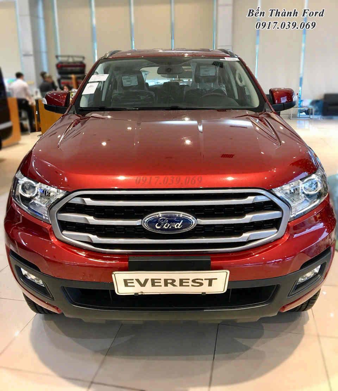 Giảm giá xe Ford Everest Ambiente Màu Đỏ Đô 2019 Mới
