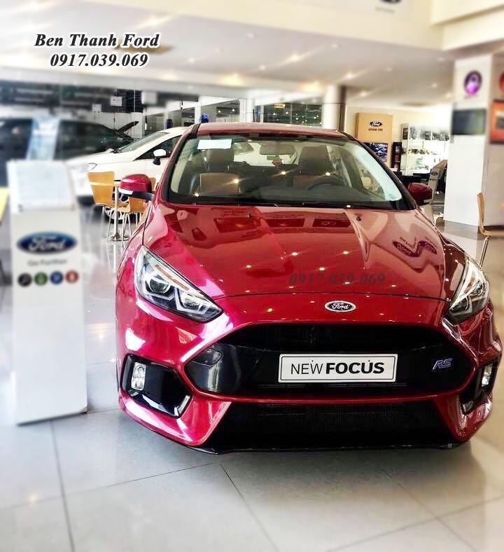 Ford Focus Màu Đỏ 2019