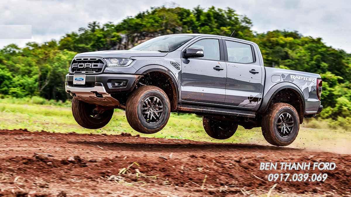 Ford Ranger Raptor Màu Xám