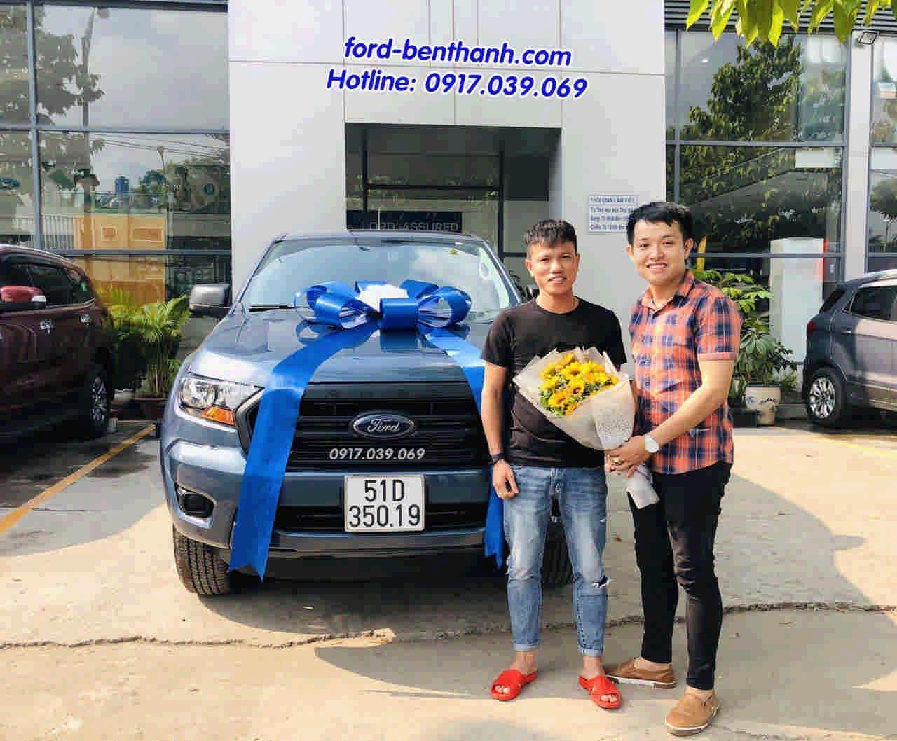 Mua xe Ford Ranger 2019 Trả Góp