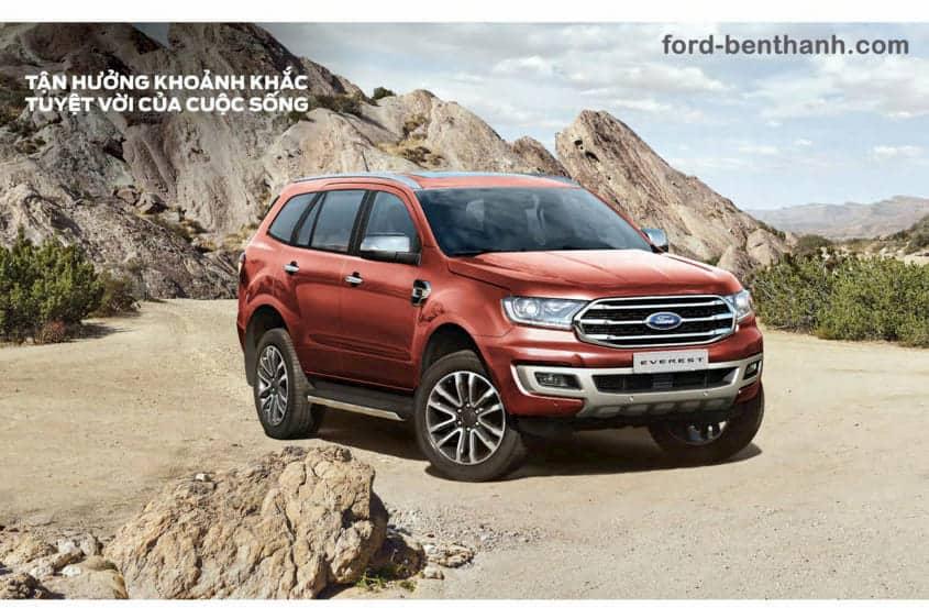 Giá Lăn Bánh Ford Everest Titanium tại Bến Thành Ford