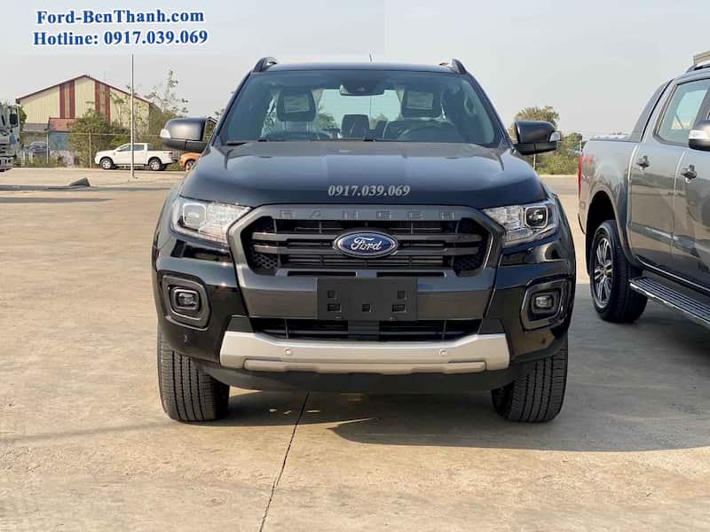 Ford Ranger WildTrak Màu đen 2020 2021 tại Bến Thành Ford Sài Gòn.