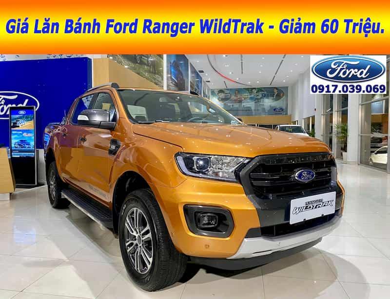 Ford Ranger WildTrak Màu Cam