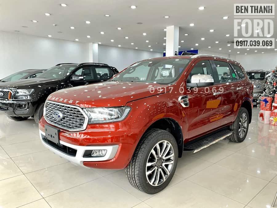 Giá Xe Ford Everest 2021 tại Bến Thành Ford Sài Gòn